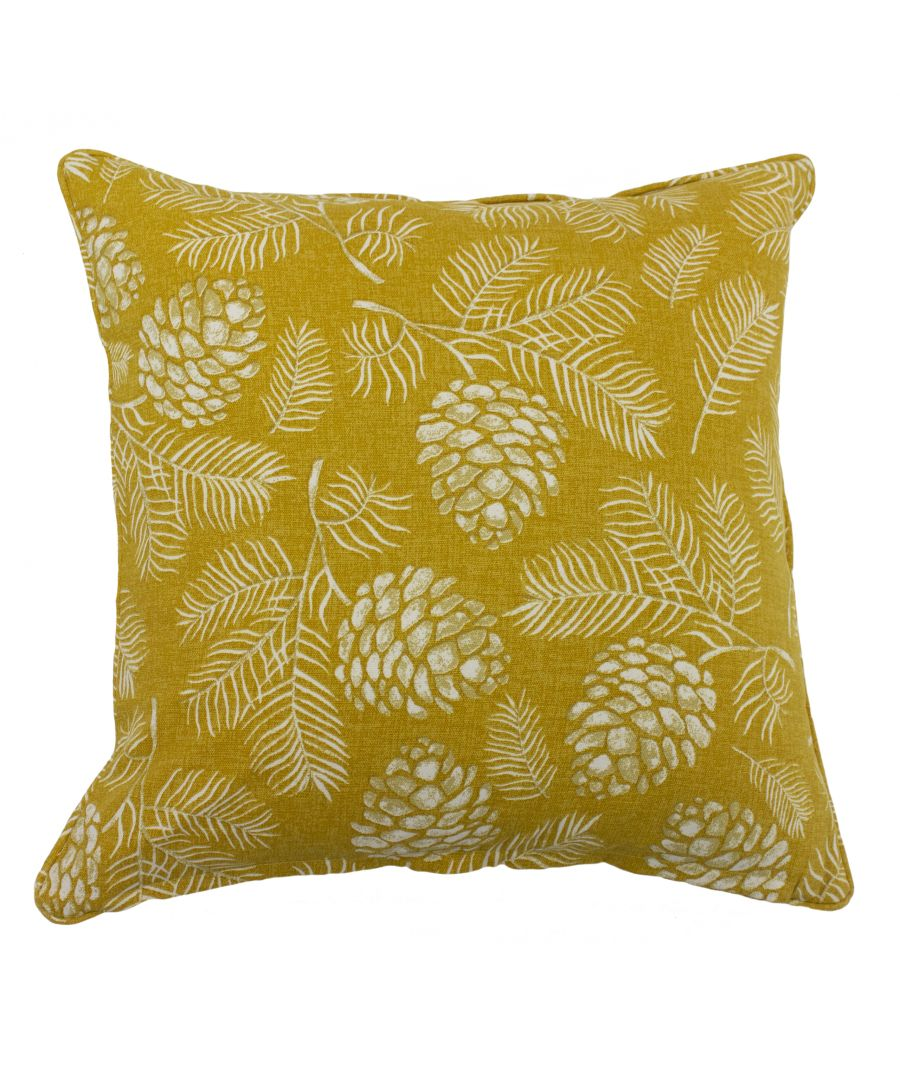 Image for Irwin 45X45 Poly Cushion Mustard