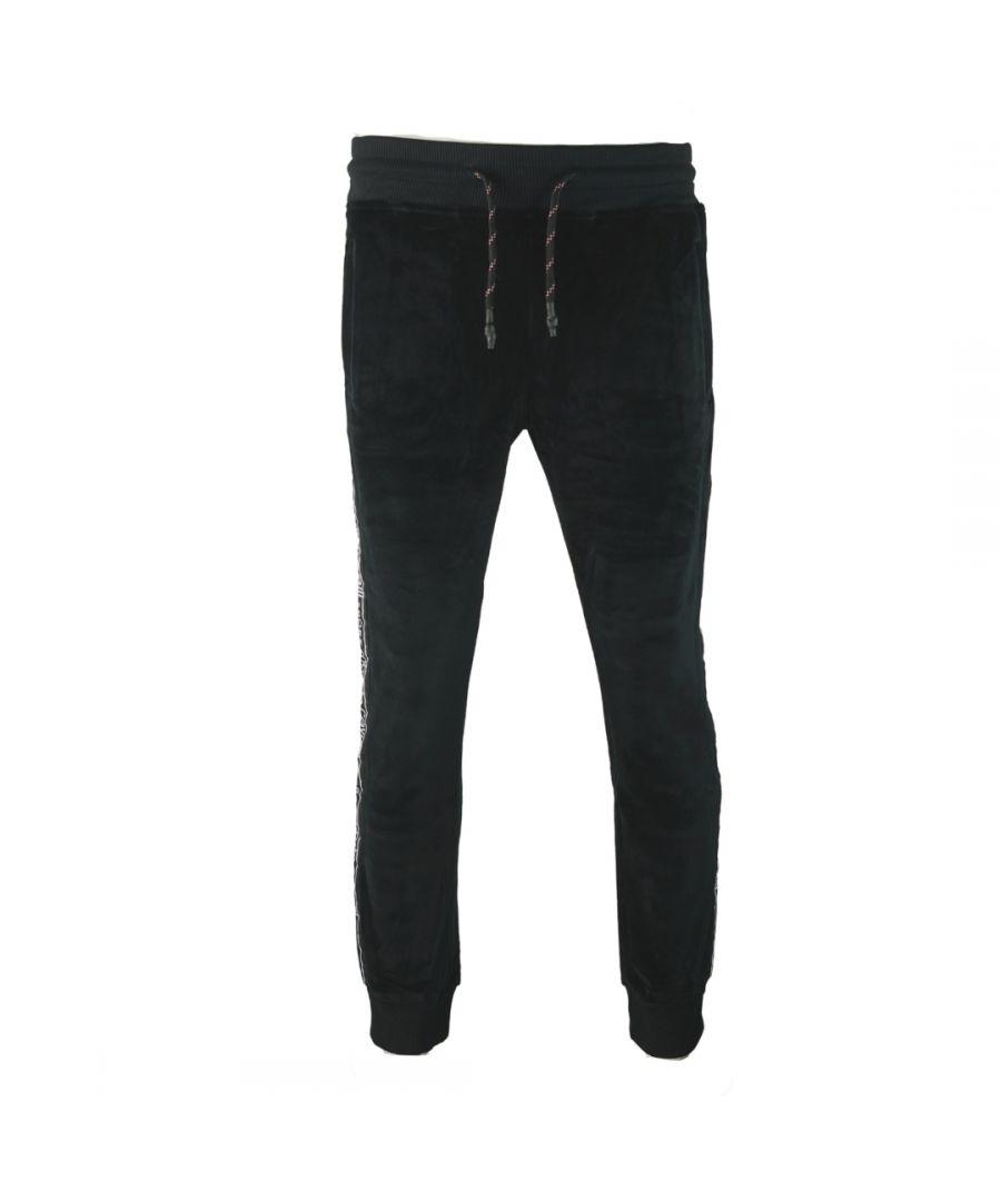 Image for Roberto Cavalli Sport Black Sweat Pants
