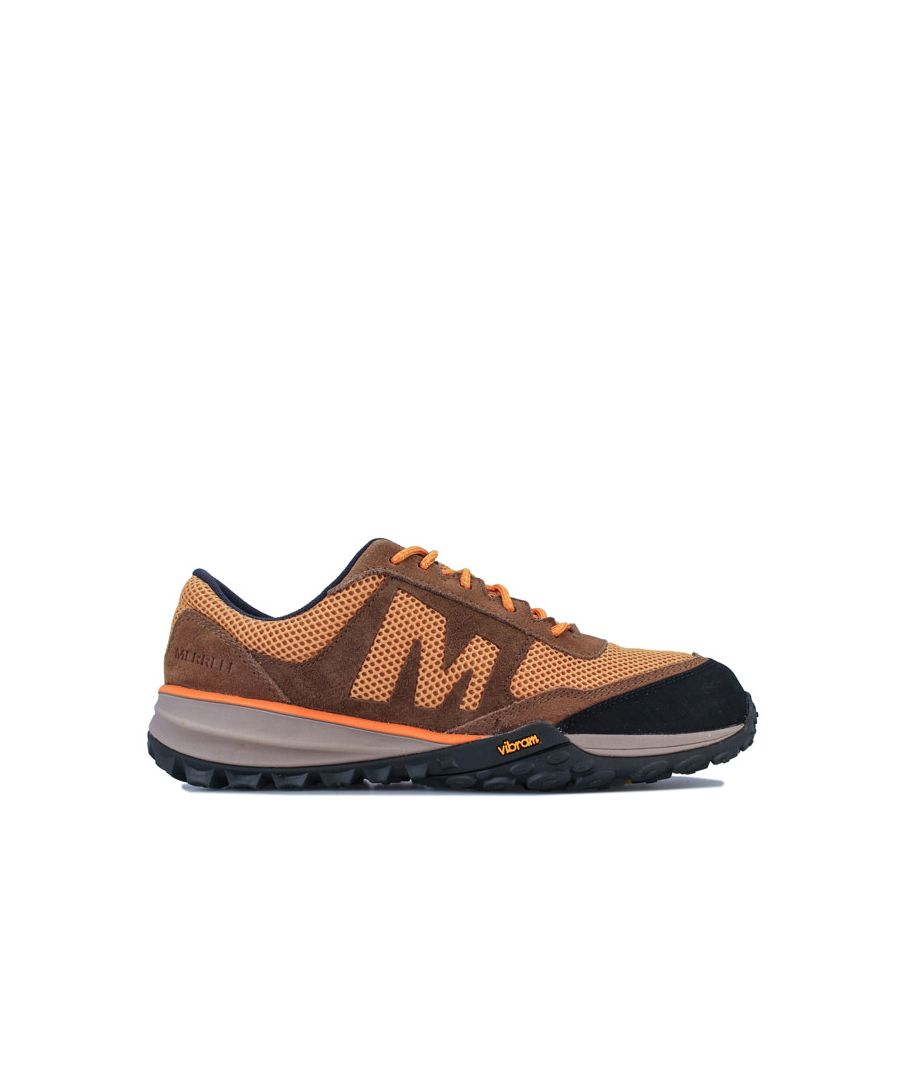 Image for Men's Merrell Havoc Vent Trail Trainers in Gold