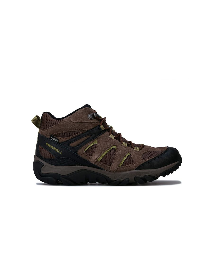 Image for Men's Merrell Outmost Vent Mid GTX Boot in Brown