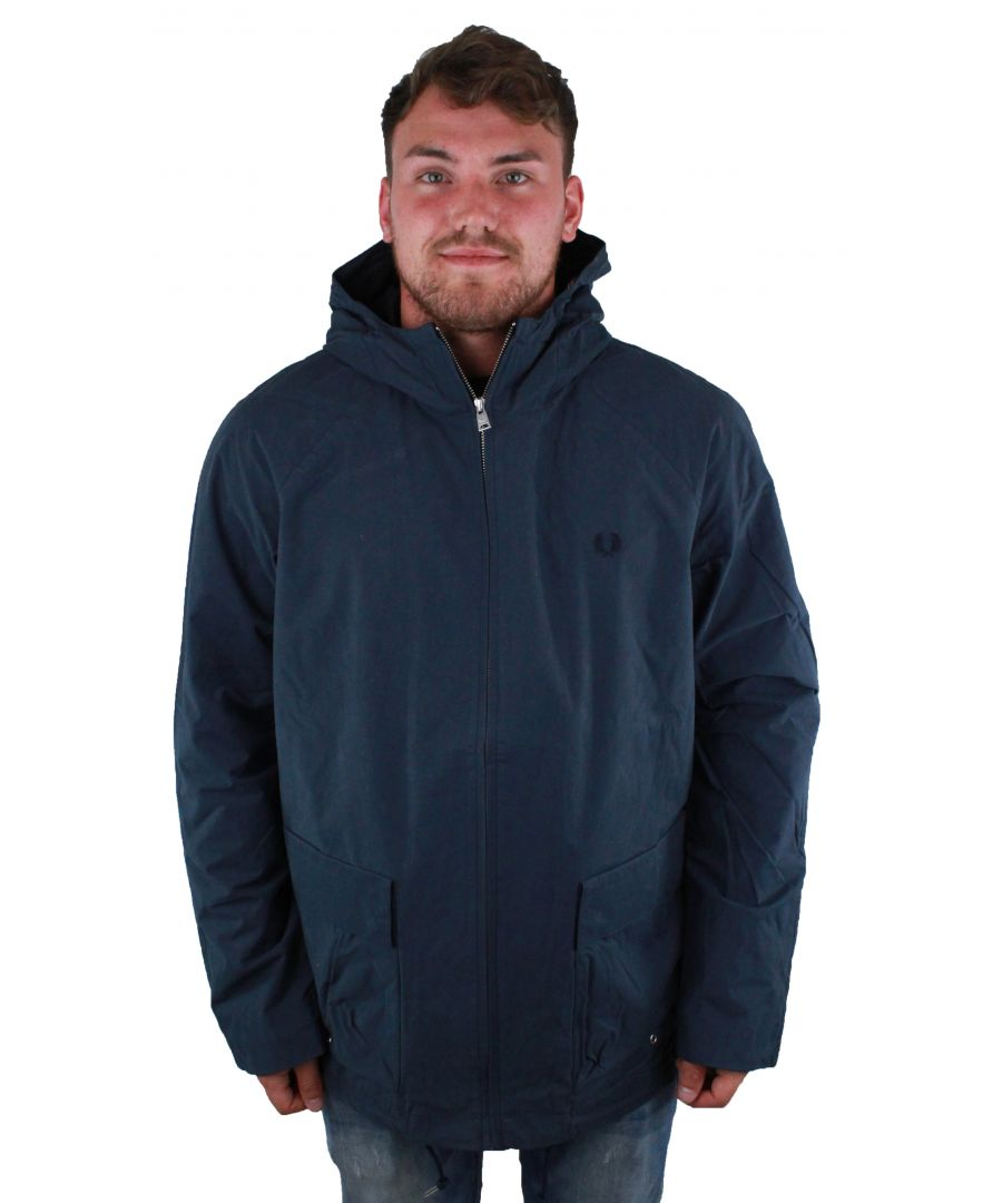 Image for Fred Perry J1509 963 Blue Austin Jacket