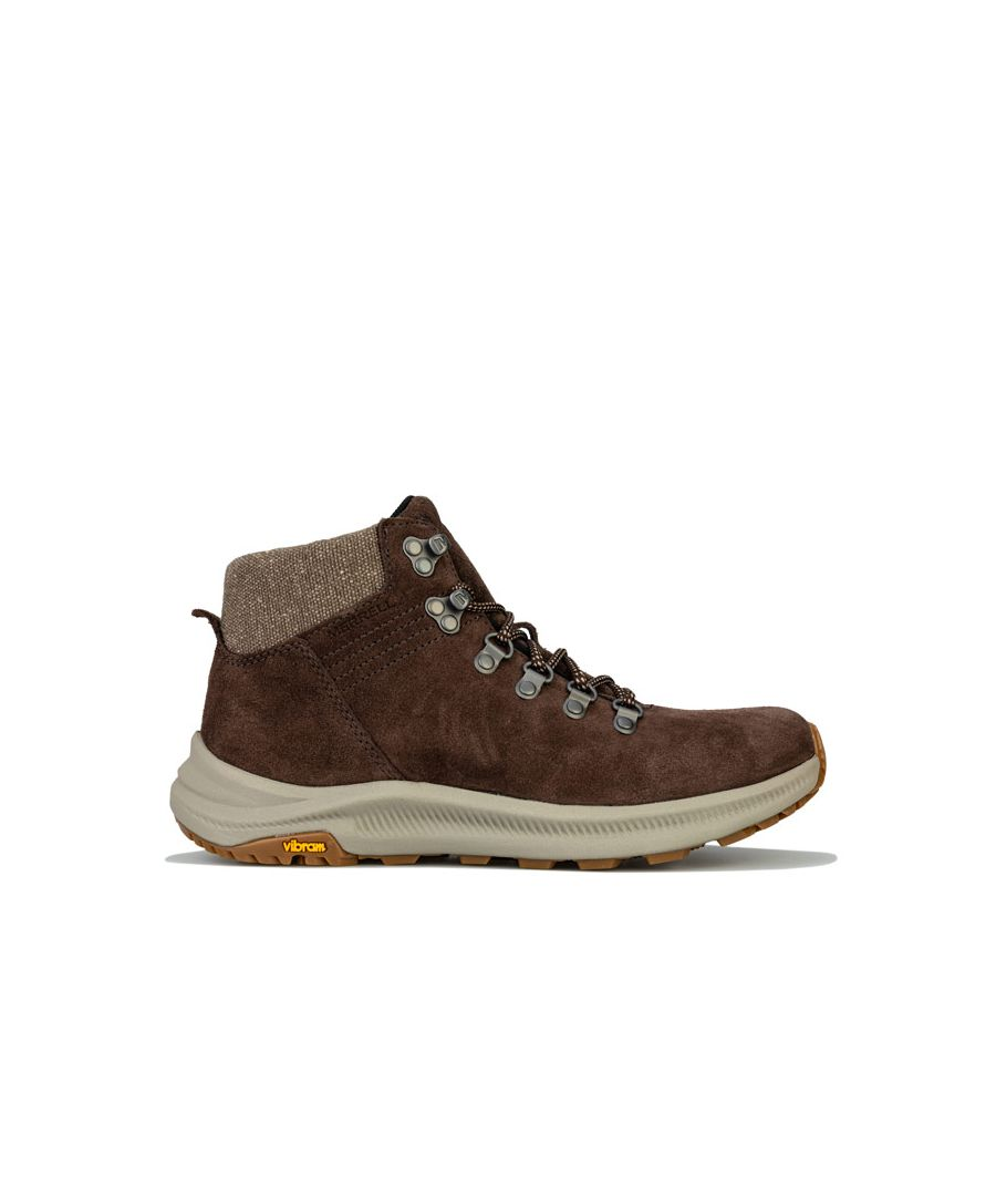 Image for Women's Merrell Ontario Suede Mid Hiking Boots in Brown