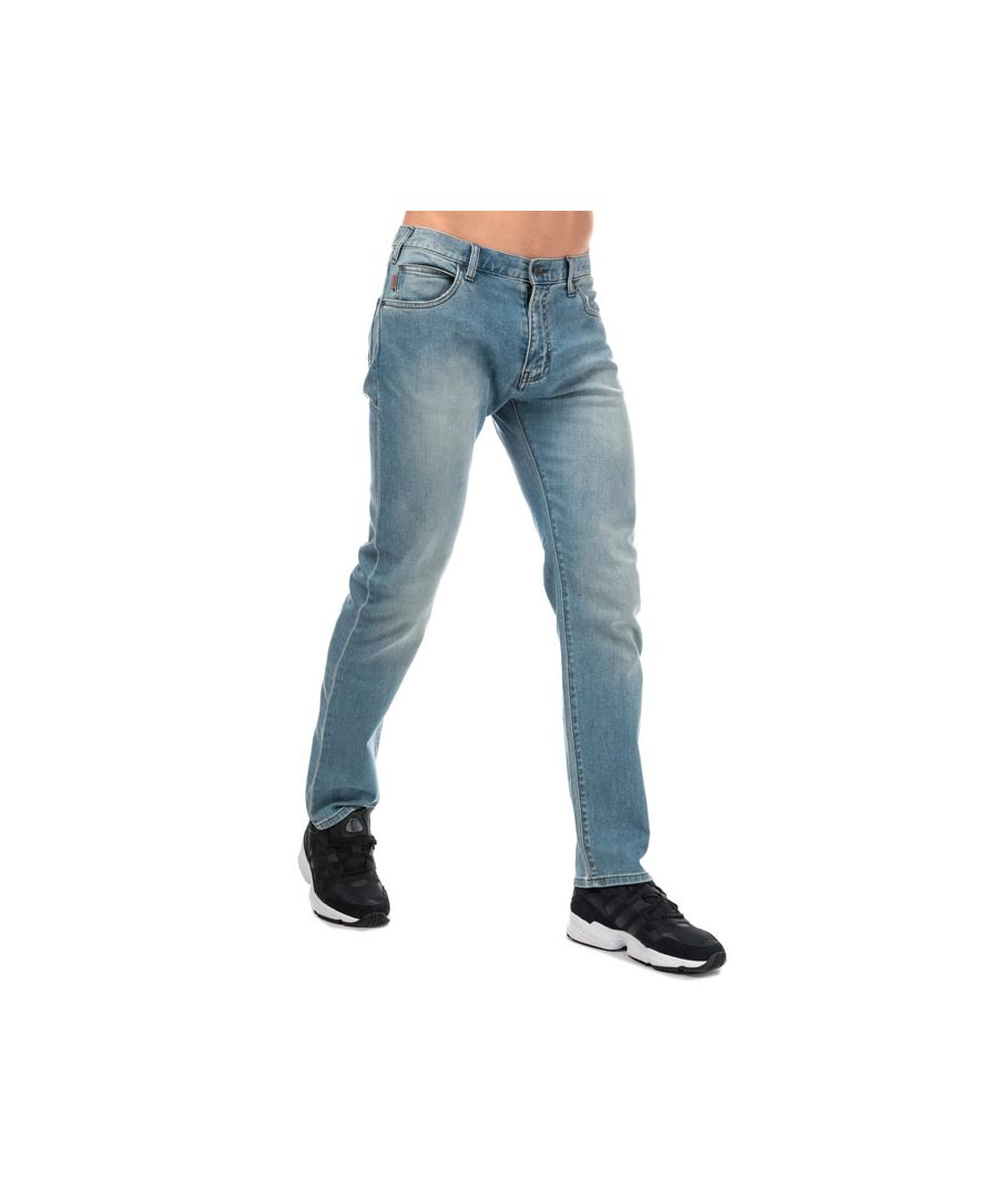 Image for Men's Armani J45 Slim Fit Jeans in Denim