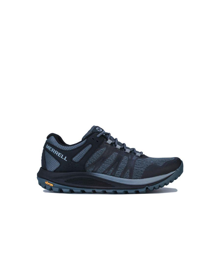 Image for Men's Merrell Nova Trail Running Shoes in Black