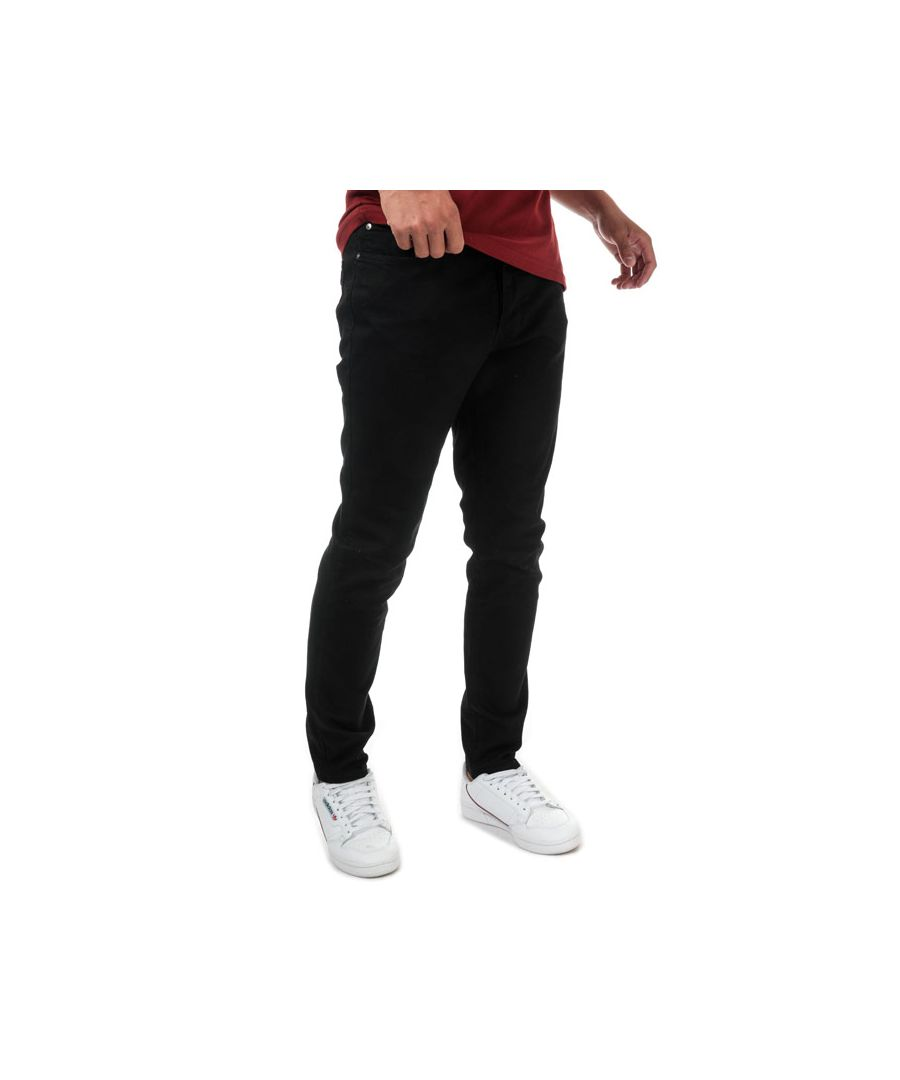 Image for Men's Lyle And Scott Slim Fit Jeans in Black