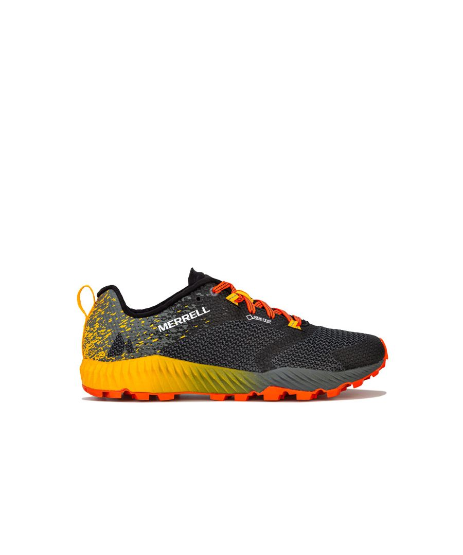 Image for Men's Merrell All Out Crush 2 GTX Trainers in Grey orange