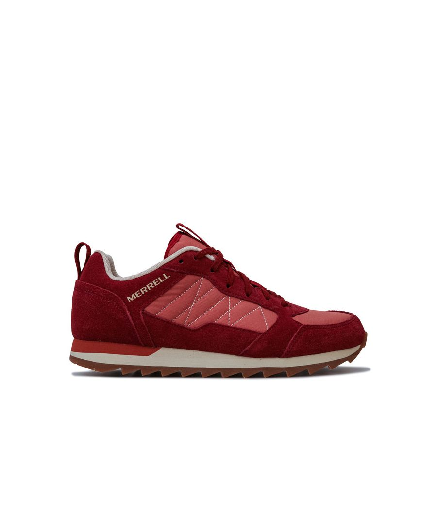 Image for Women's Merrell Alpine Sneaker Trainer in Red