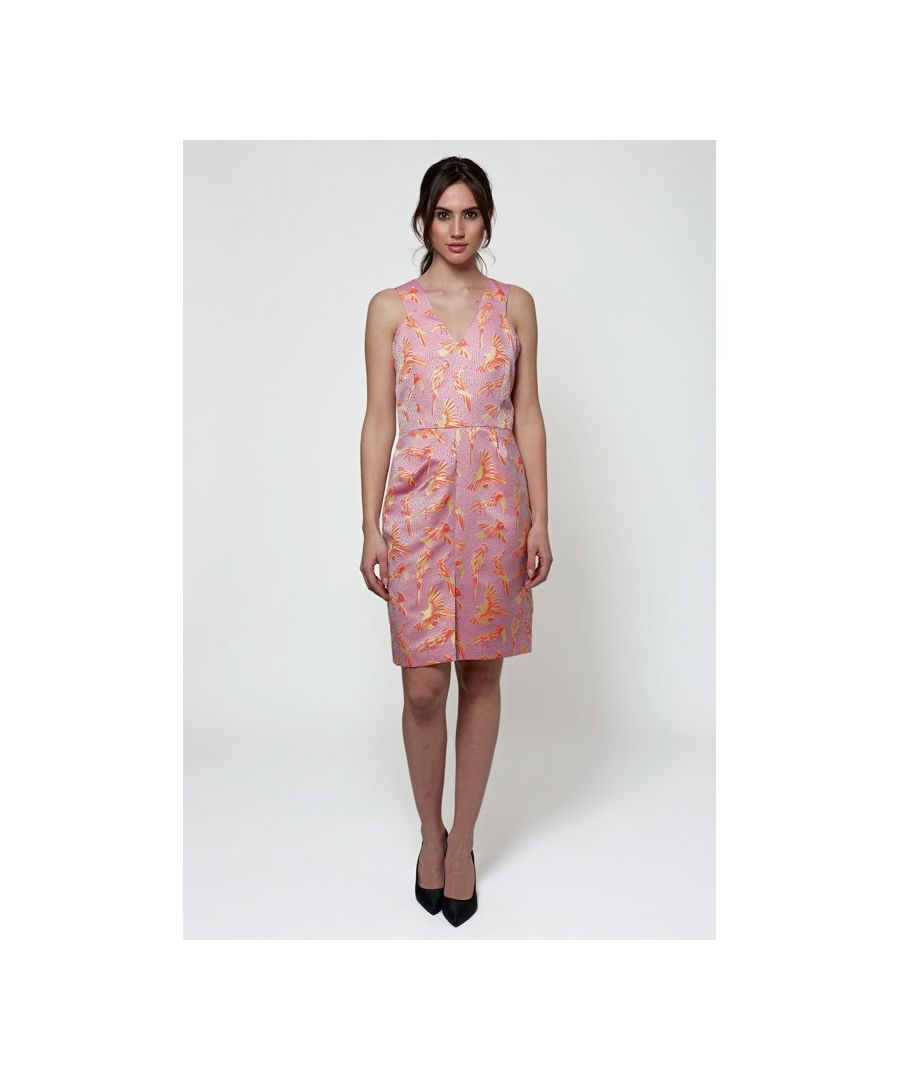 Image for Jacquard Knee Length Dress