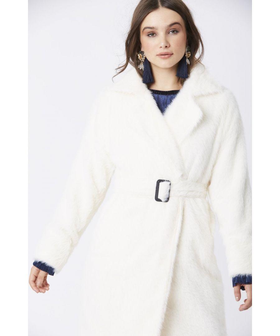 Image for JAYLEY Faux Fur Coat