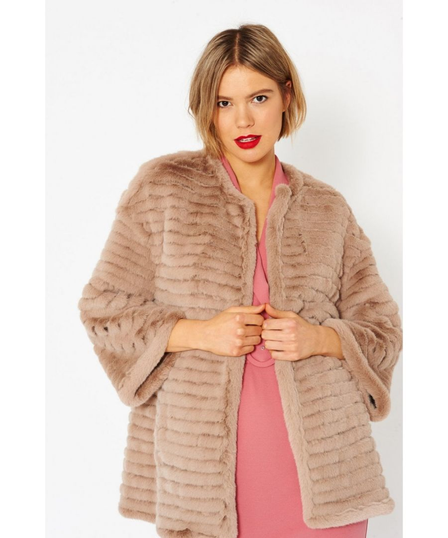 Image for Luxury Faux Fur Coat