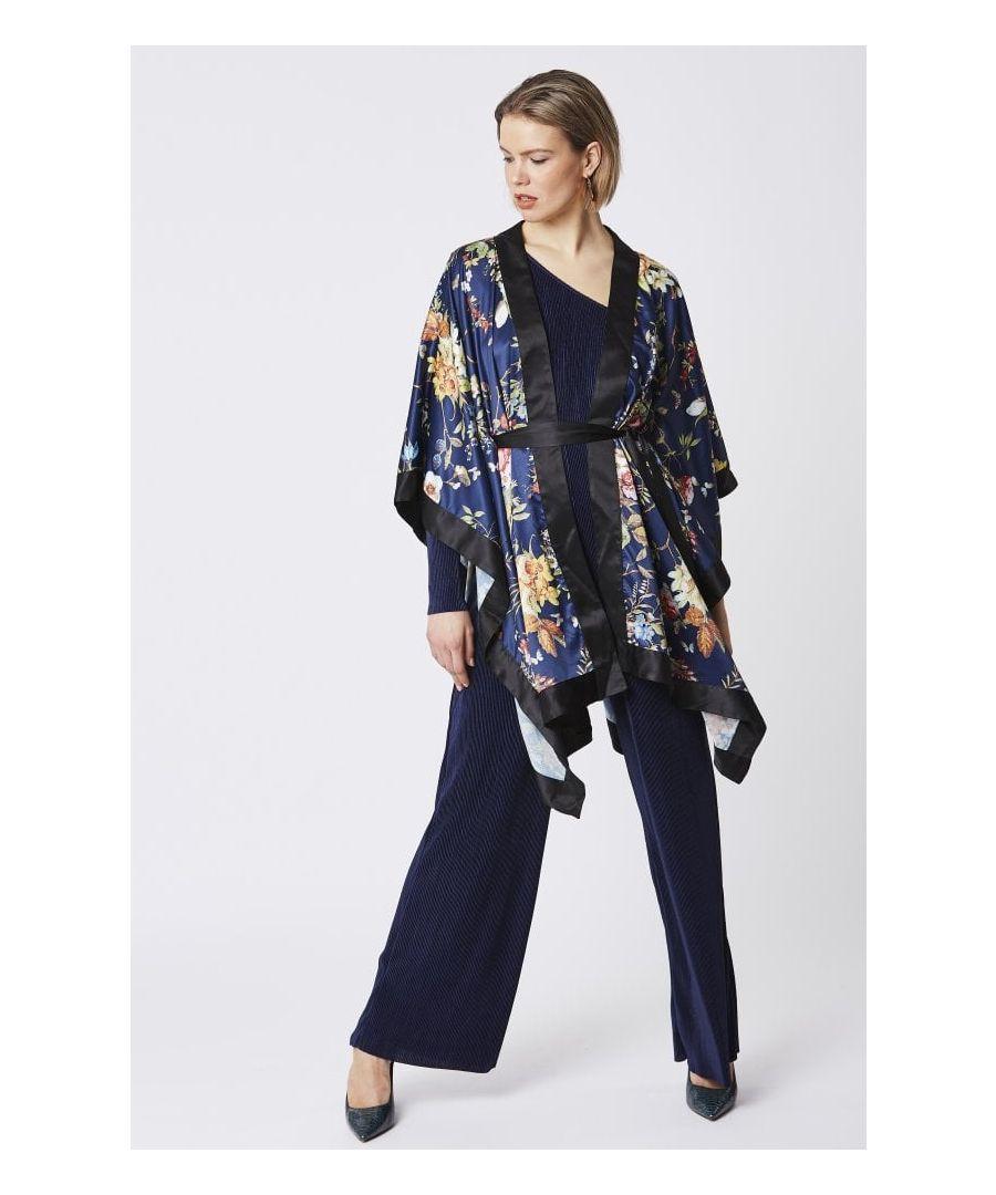 Image for Silk Blend Kimono