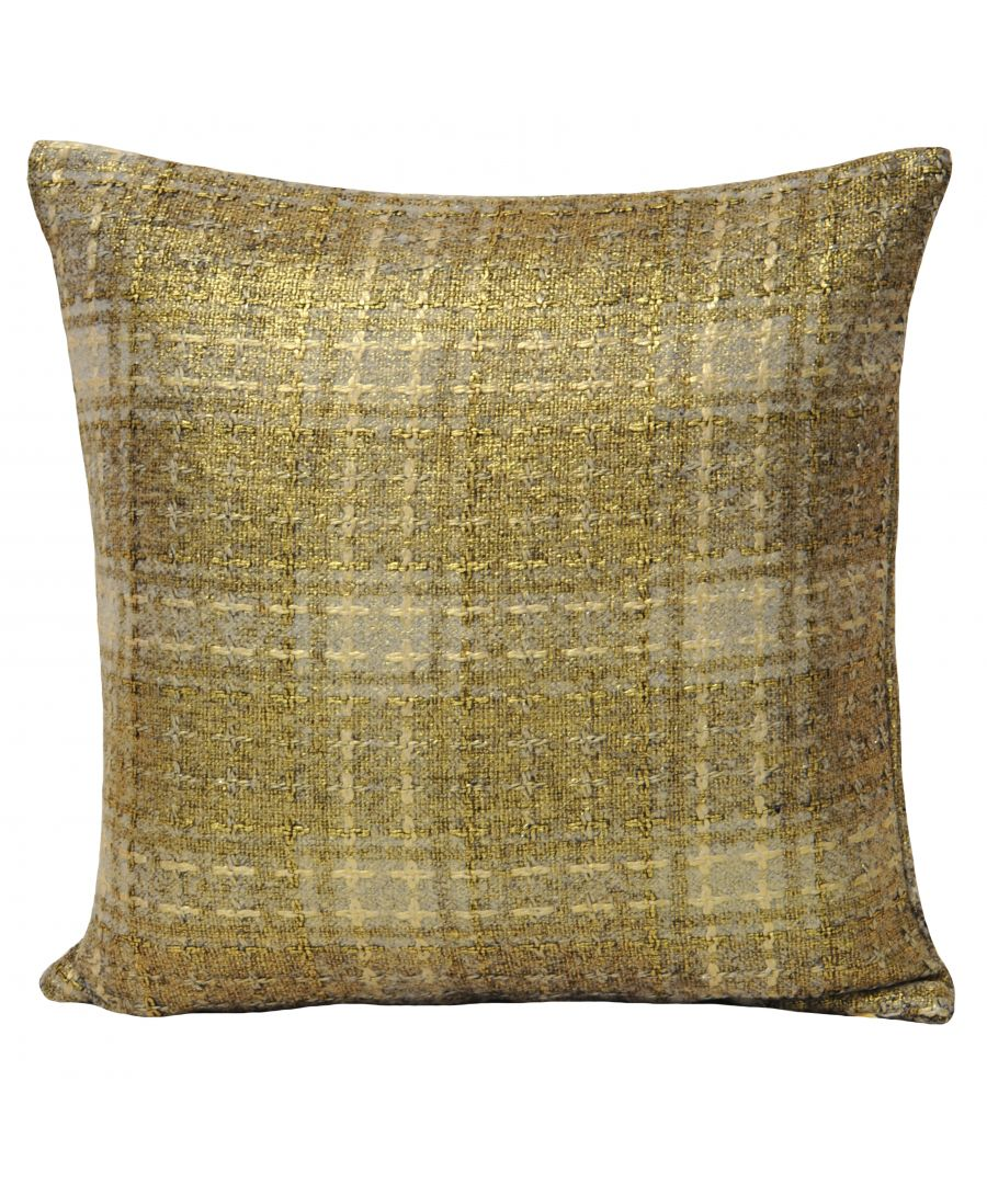 Image for Jazz 45X45 Poly Cushion Gold