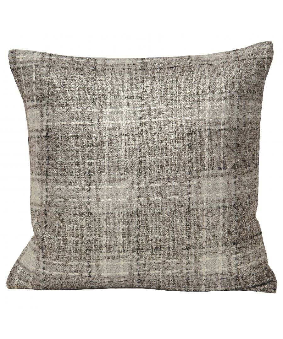Image for Jazz 45X45 Poly Cushion Silver