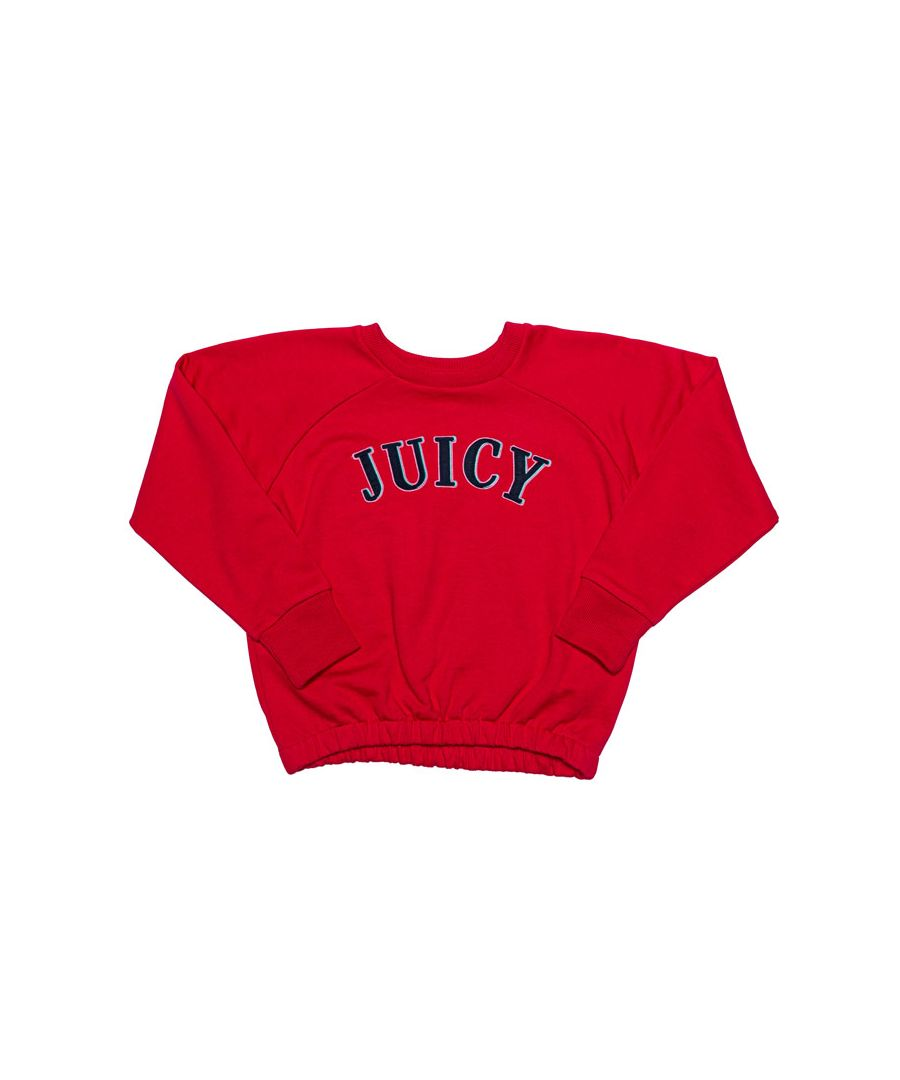 Image for Girl's Juicy Couture Infant Applique Sweat in Rose