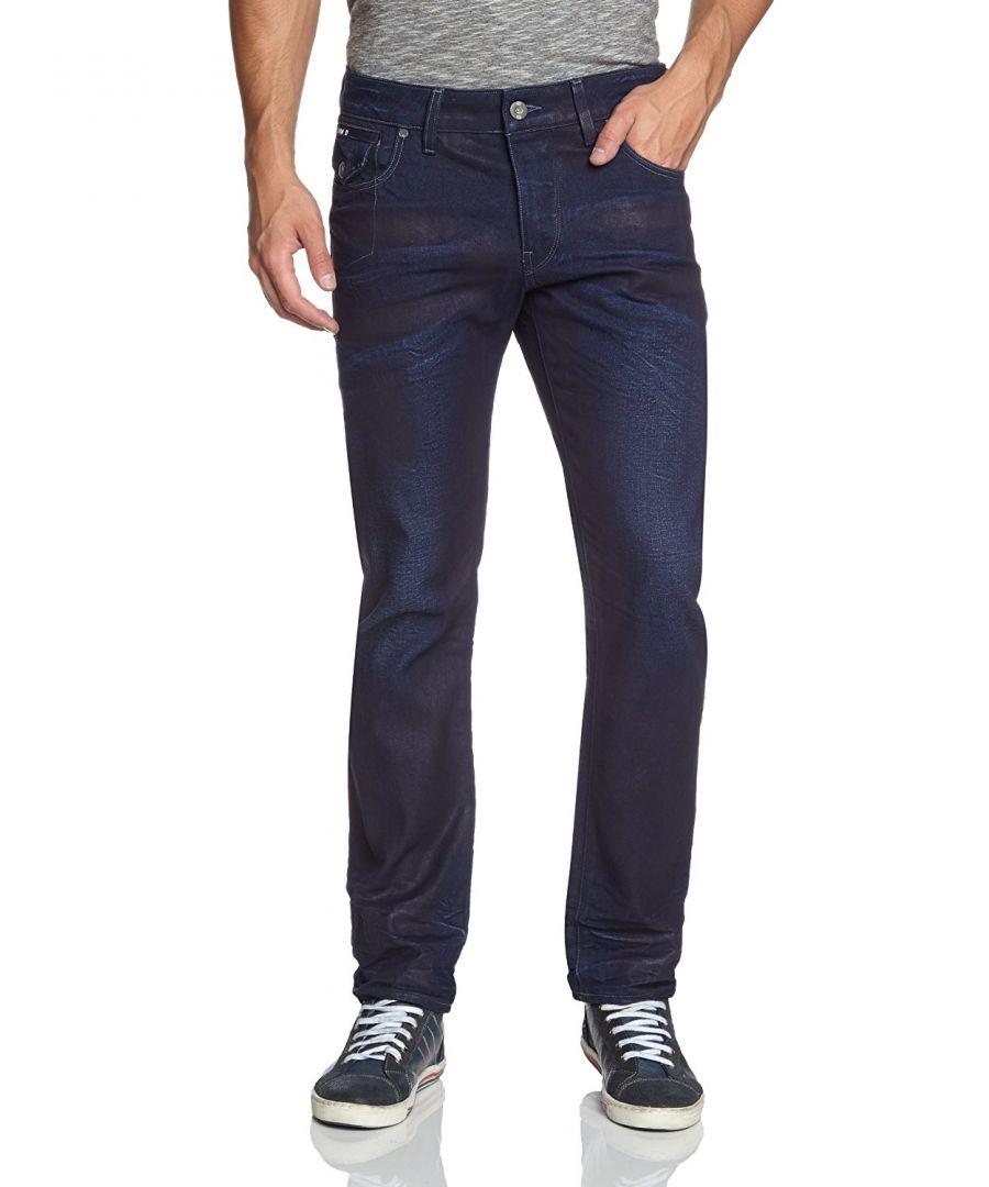 Image for G-Star Morris Low Straight Medium Aged Geo Denim Jeans