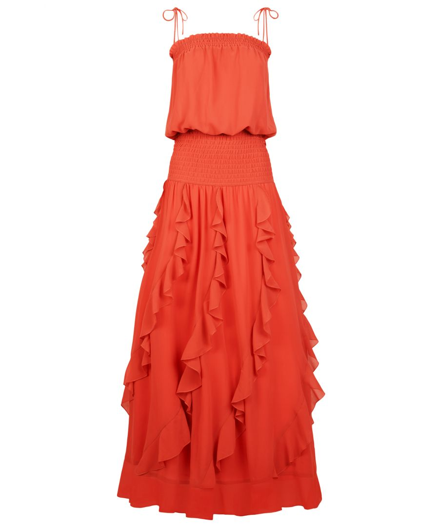 Image for Flounce and Frills Maxi Dress