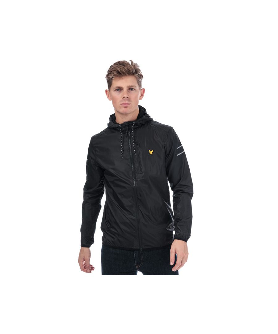 Image for Men's Lyle And Scott Ultra Lightweight Run Jacket in Black