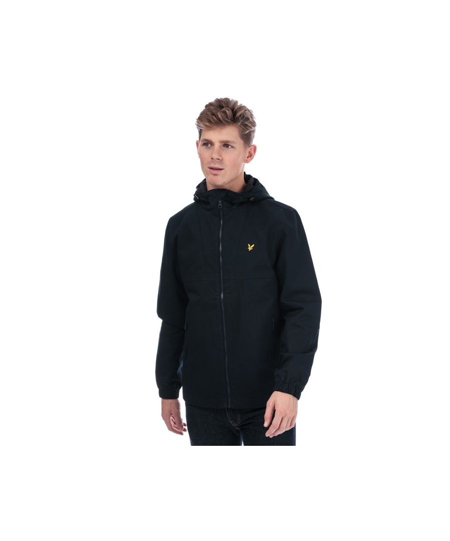 Image for Men's Lyle And Scott Cotton Twill Jacket in Navy