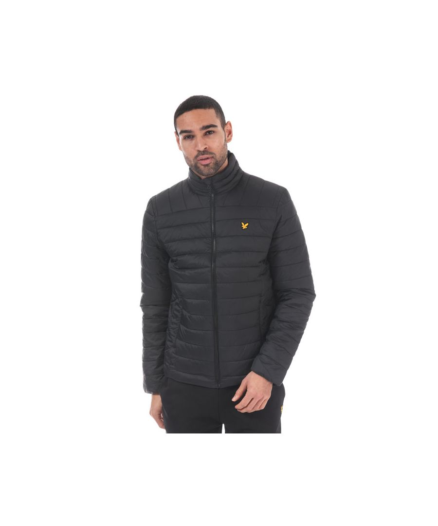 Image for Men's Lyle And Scott Sport Lightweight Quilted Jacket in Black