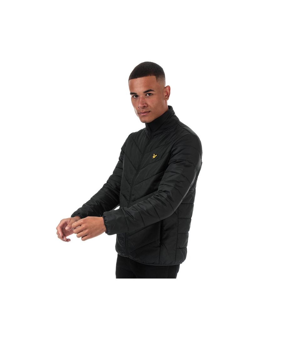 Image for Men's Lyle And Scott Puffer Jacket in Black