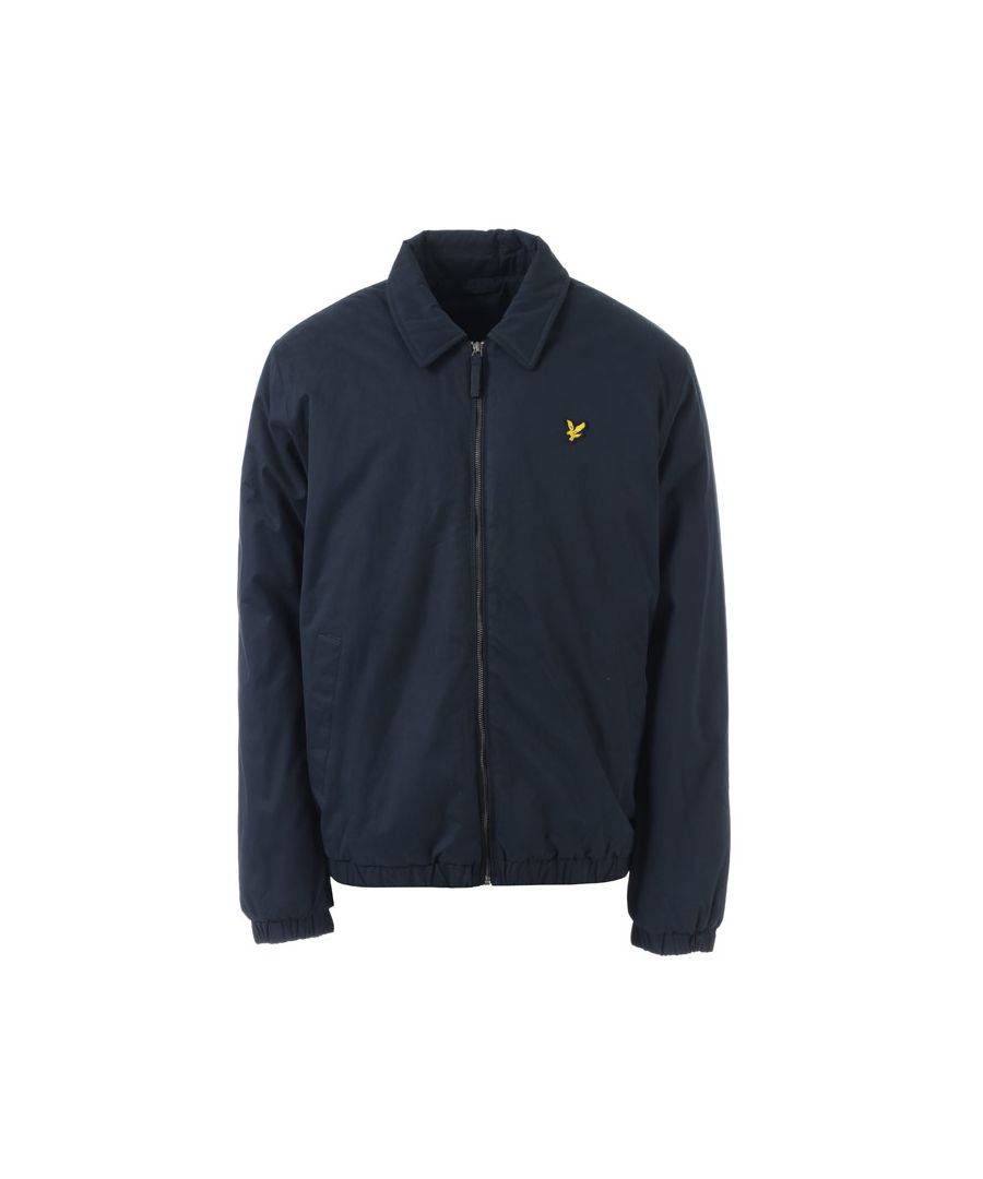 Image for Men's Lyle And Scott Wadded Harrington Jacket in Navy
