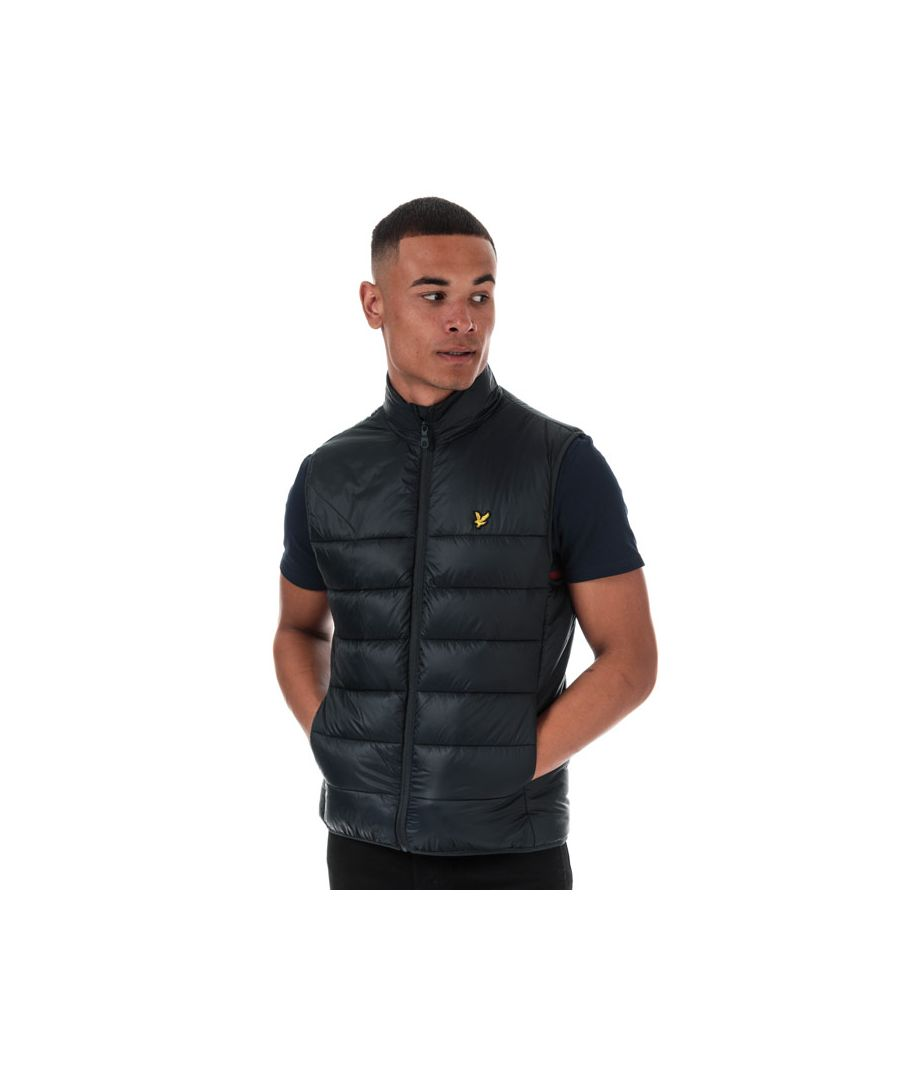 Image for Men's Lyle And Scott Wadded Gilet in Navy