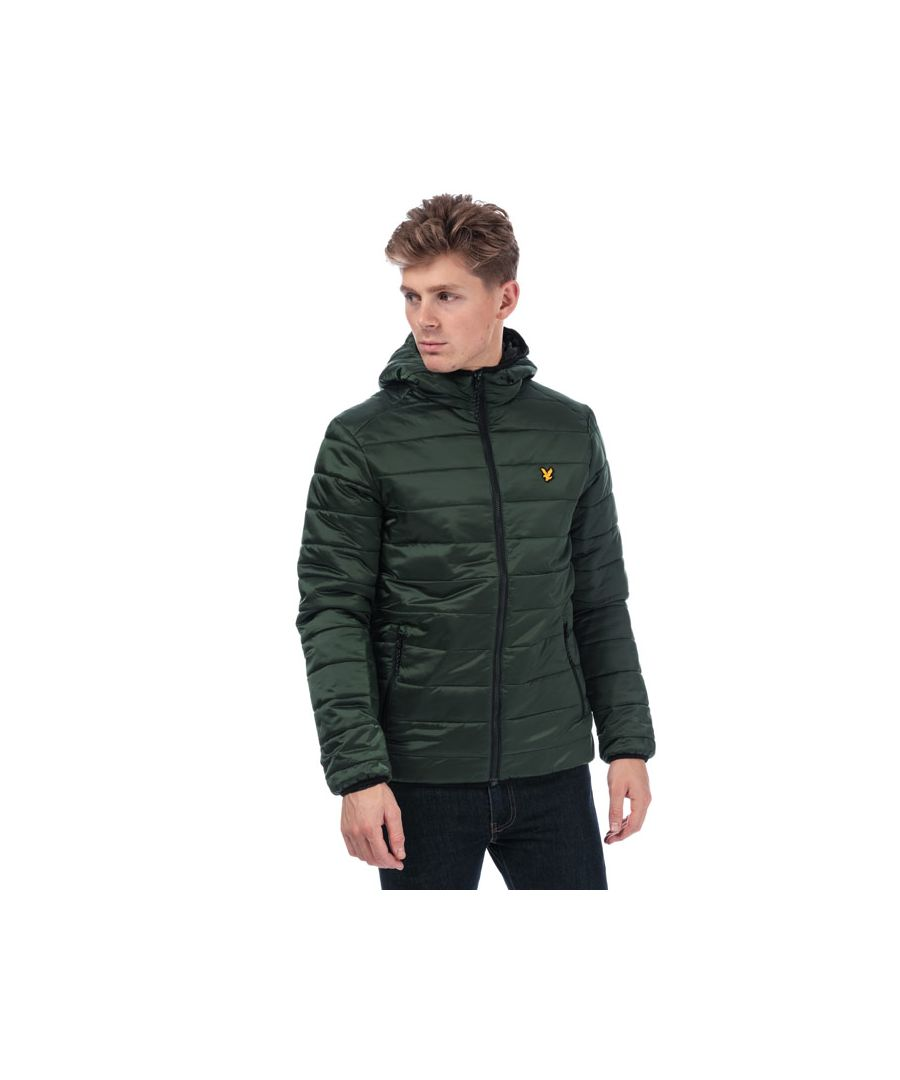 Image for Men's Lyle And Scott Cooke Hooded Jacket in olive