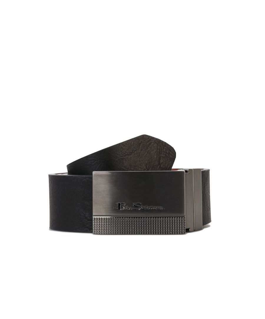 Image for Accessories Ben Sherman Cicero Reversible Belt in Black