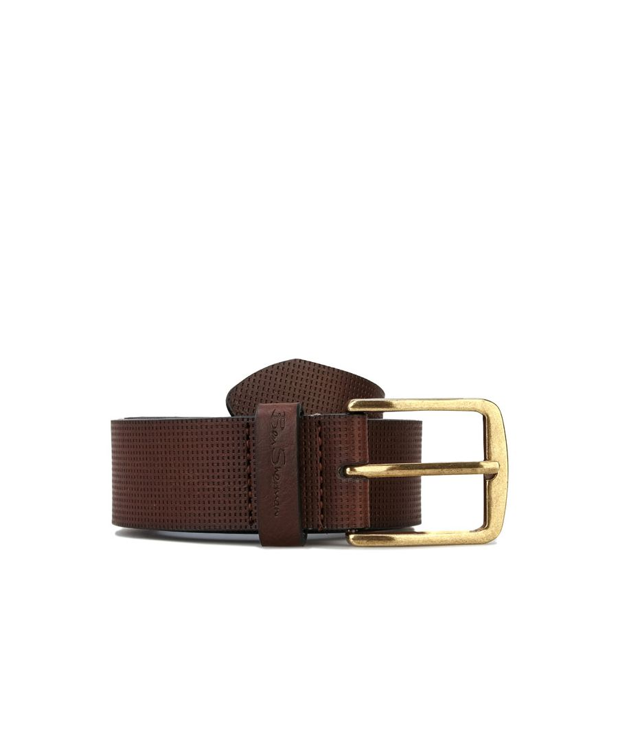 Image for Accessories Ben Sherman Kyrill Belt in Brown