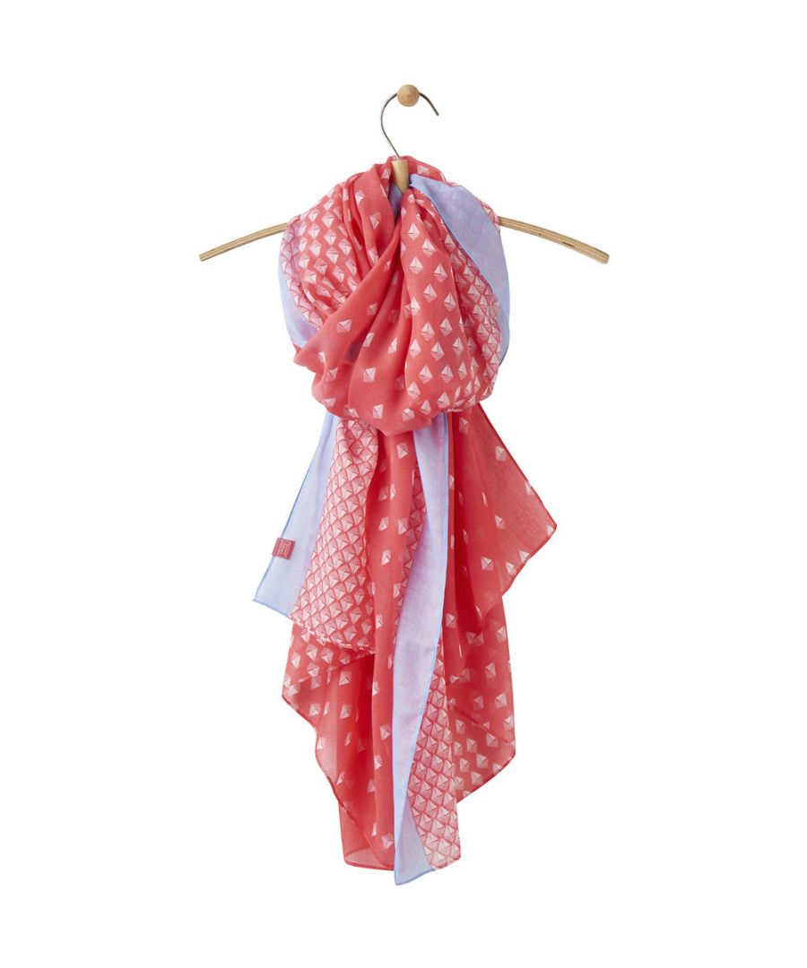 Image for Joules Womens/Ladies Wensley Longline Lightweight Woven Fashion Scarf