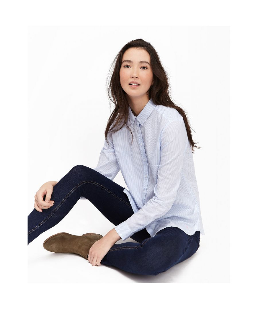 Image for Joules Womens/Ladies Lucieprint Printed Loose Fit Classic Casual Shirt