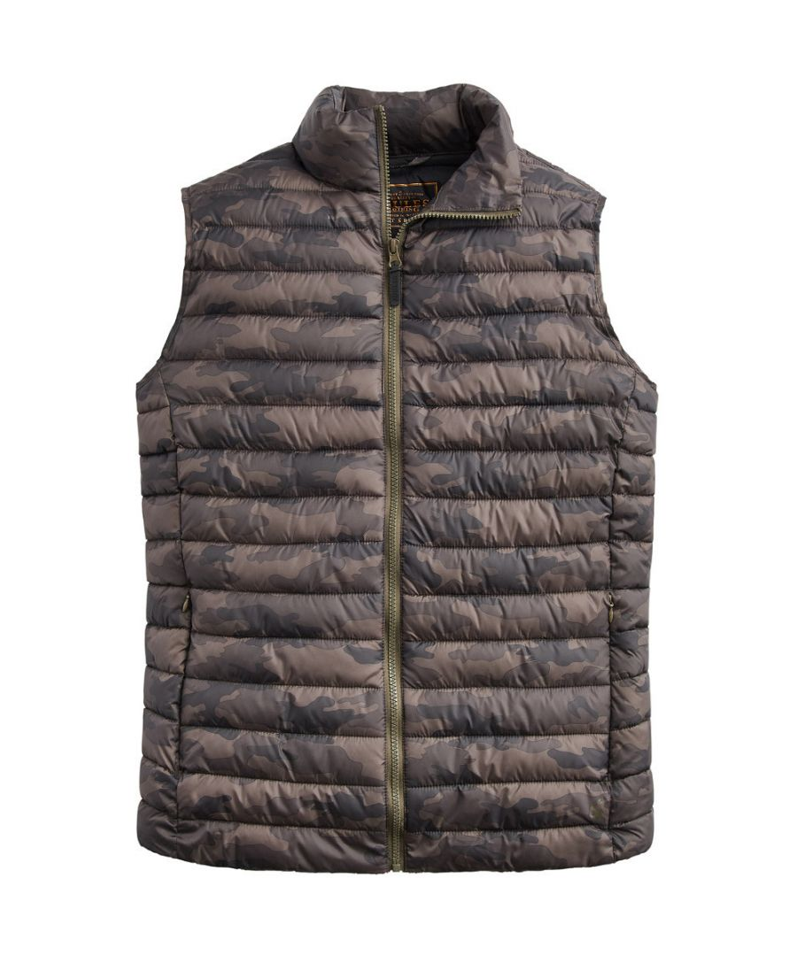 Image for Joules Mens Z Go To Upfill Layering Lightweight Warm Bodywarmer Gilet