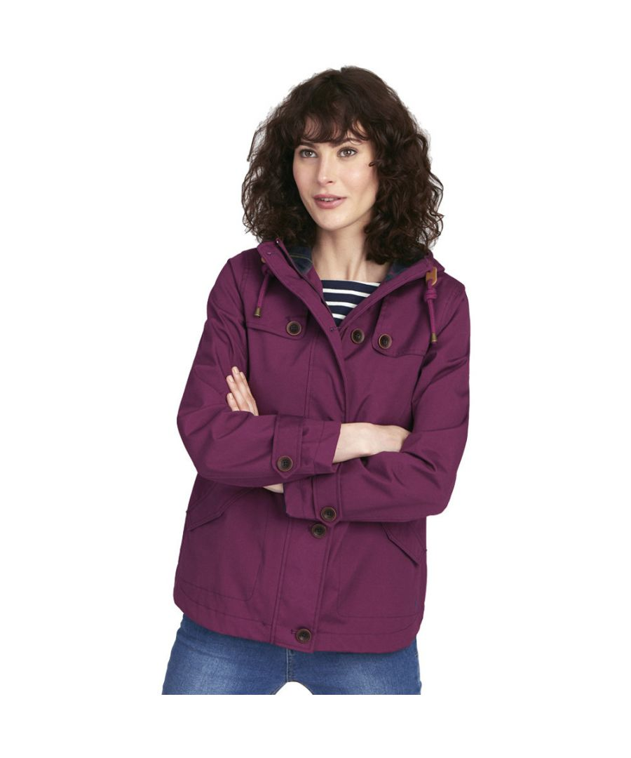 Image for Joules Womens/Ladies Z Coast Updated Waterproof Breathable Jacket