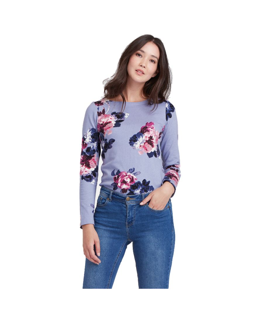 Image for Joules Womens/Ladies Z Harbour Breathable Long Sleeve Jersey T Shirt