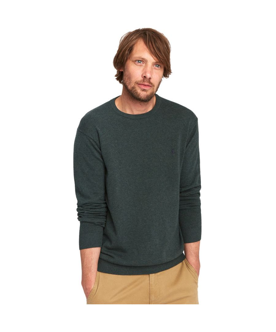 Image for Joules Mens Jarvis Crew Neck Long Sleeve Ribbed Casual Sweater Jumper