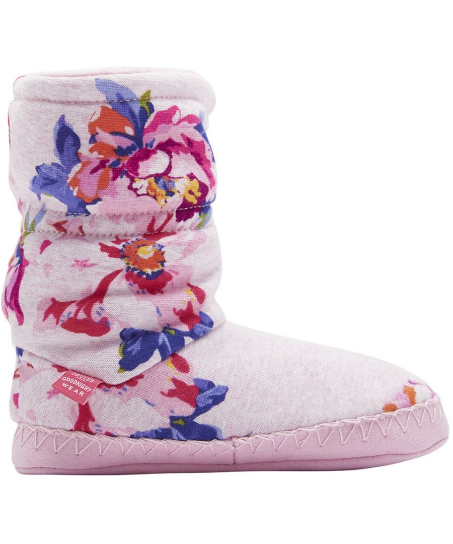 Image for Joules Girls Super Soft Slipper Sock Warm Boots Bootie