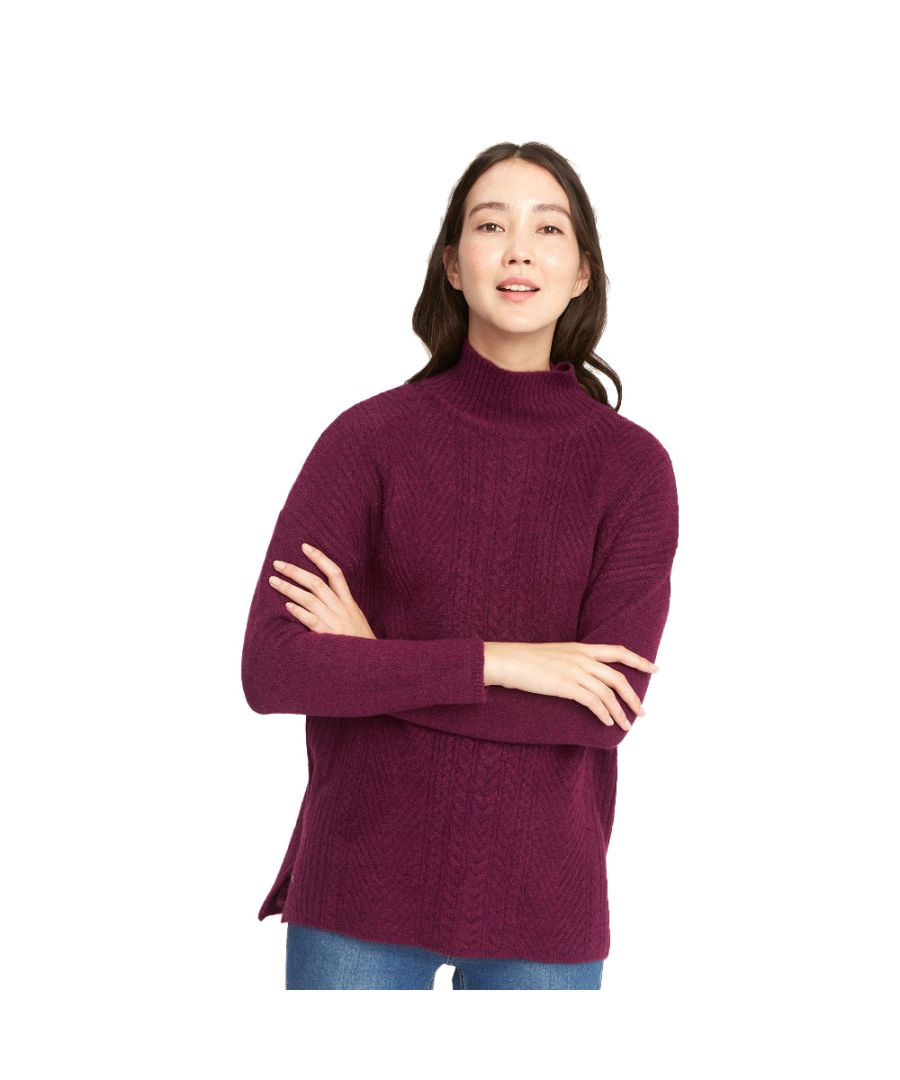Image for Joules Womens Fallon Super Soft Warm Cable Knit Jumper