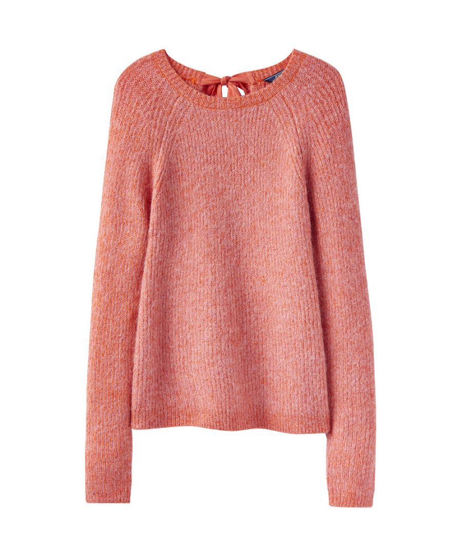 Image for Joules Womens Sorcha Raglan Tie Neck Super Soft Sweater