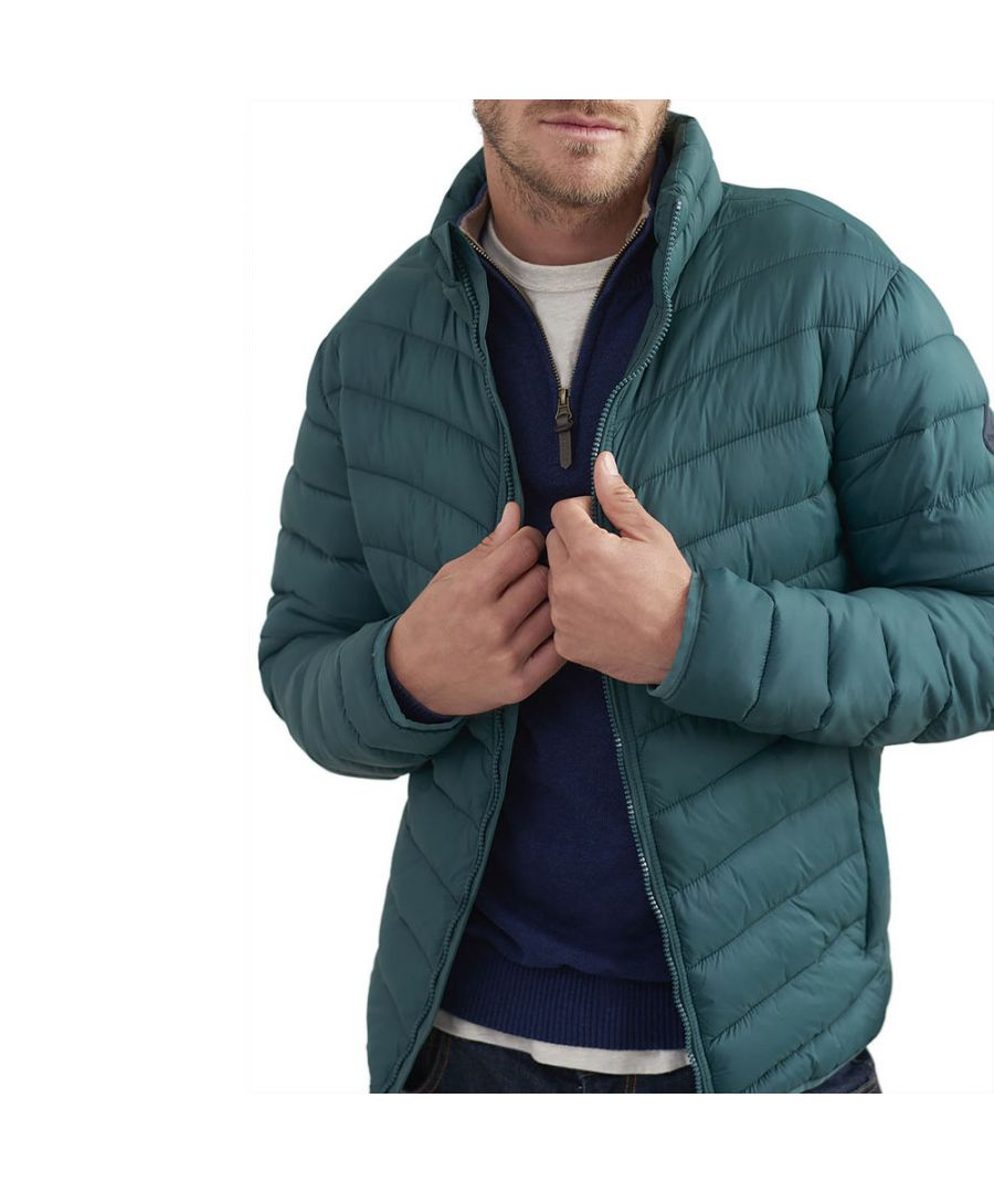 Image for Joules Mens Go To Lightweight Contrast Warm Padded Jacket