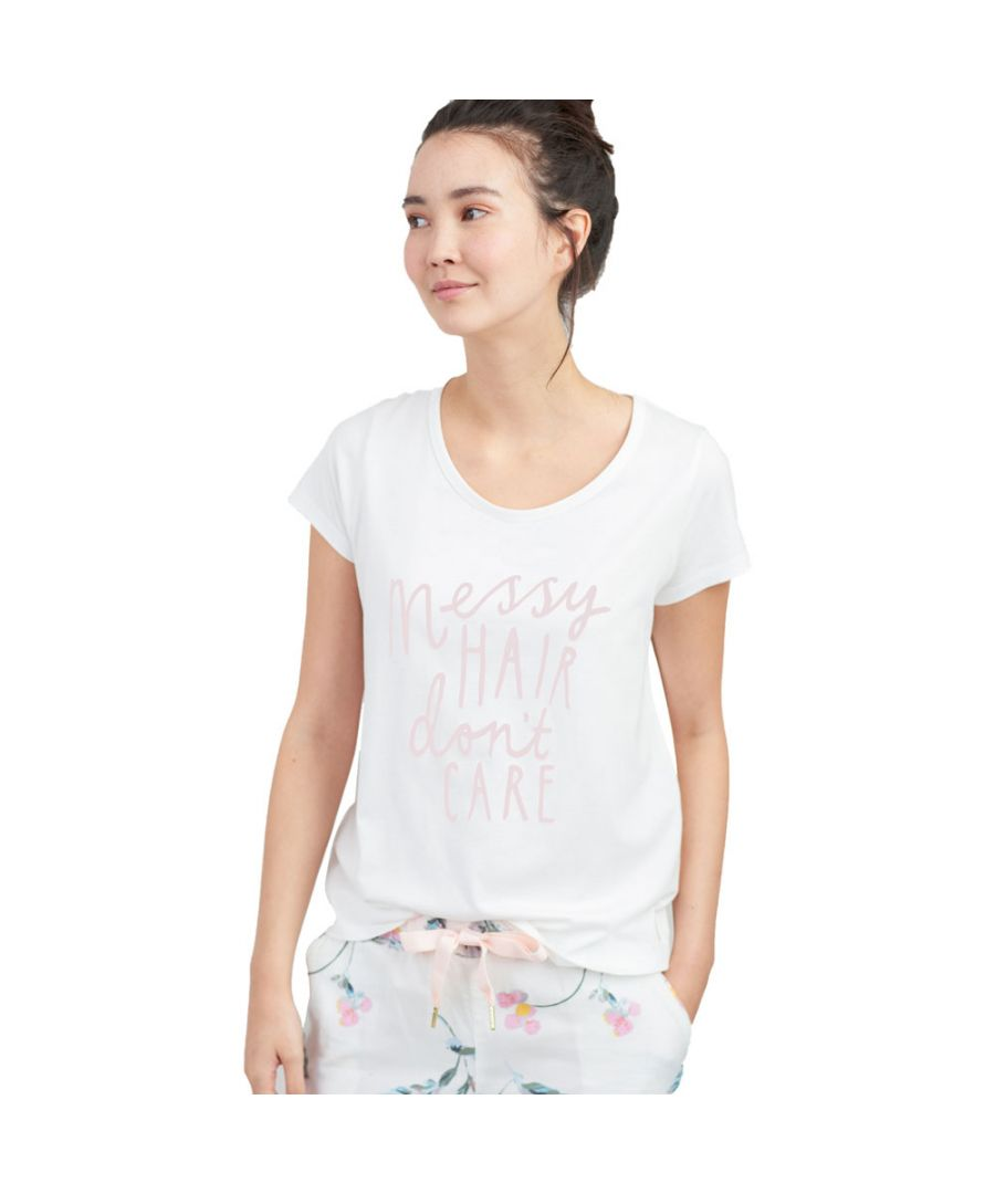 Image for Joules Womens Anna Soft Breathable Short Sleeve T-Shirt