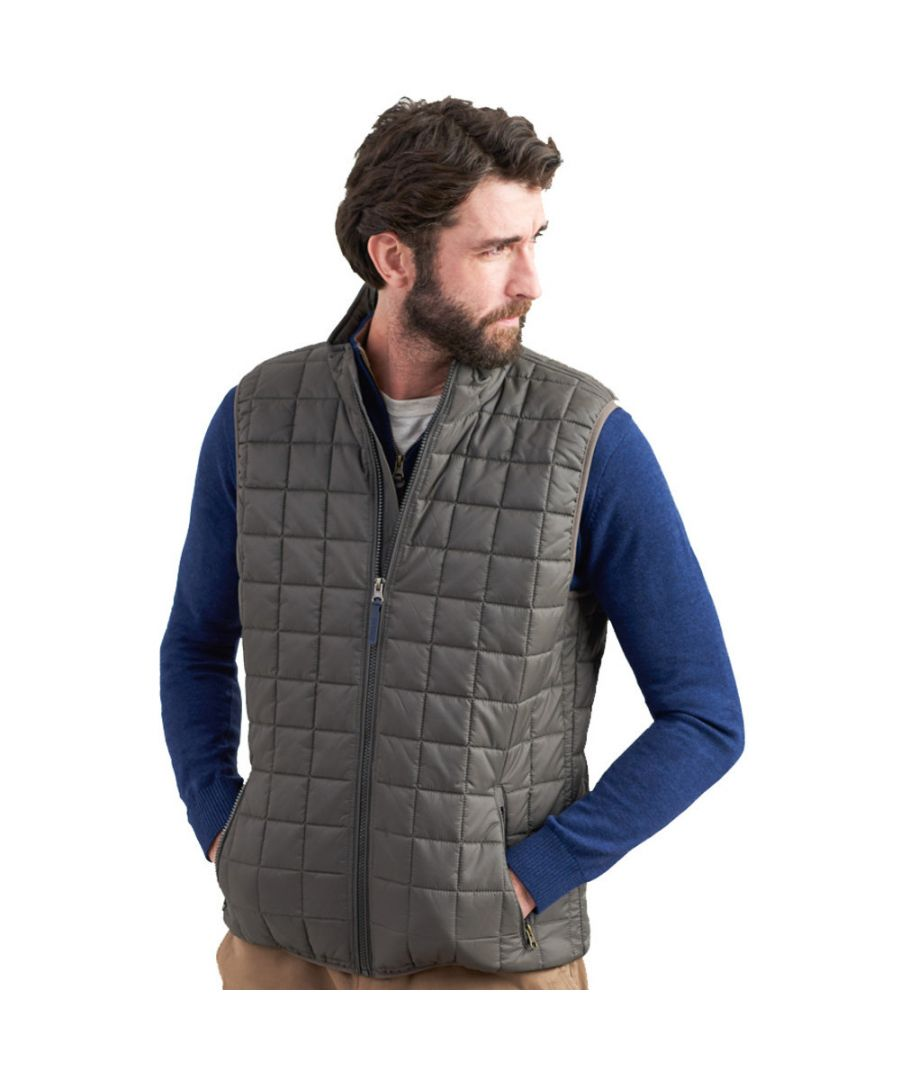 Image for Joules Mens Ridgeway Lightweight Ripstop Body Warmer Gilet