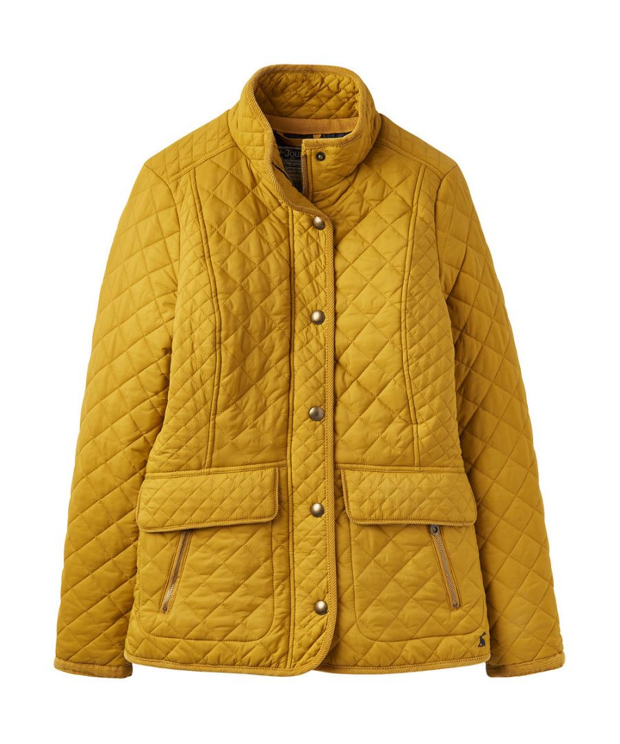 Image for Joules Womens Newdale Quilted Versatile Warm Casual Coat