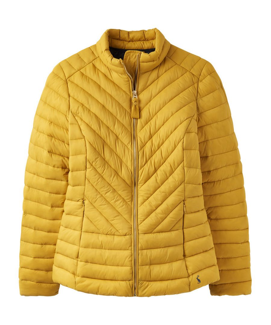 Image for Joules Womens Elodie Quilted Lightweight Warm Padded Coat