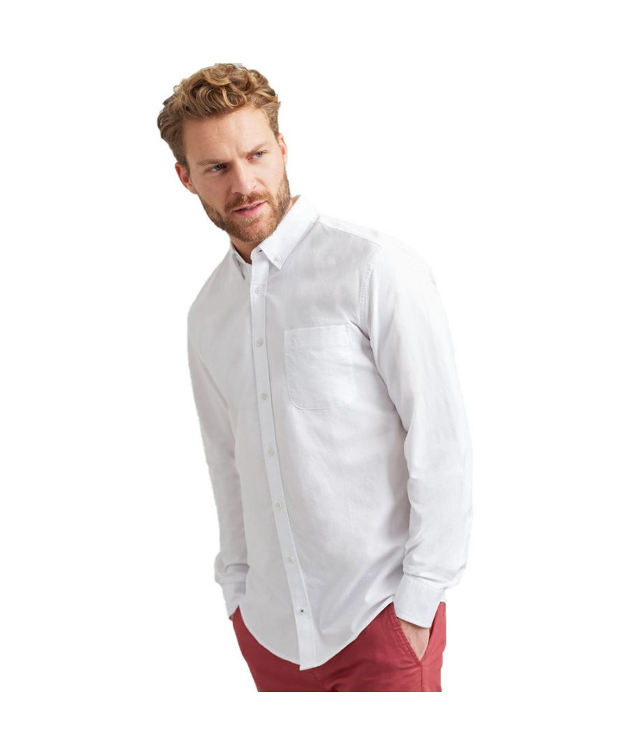 Image for Joules Mens Laundered Button Down Long Sleeve Oxford Shirt