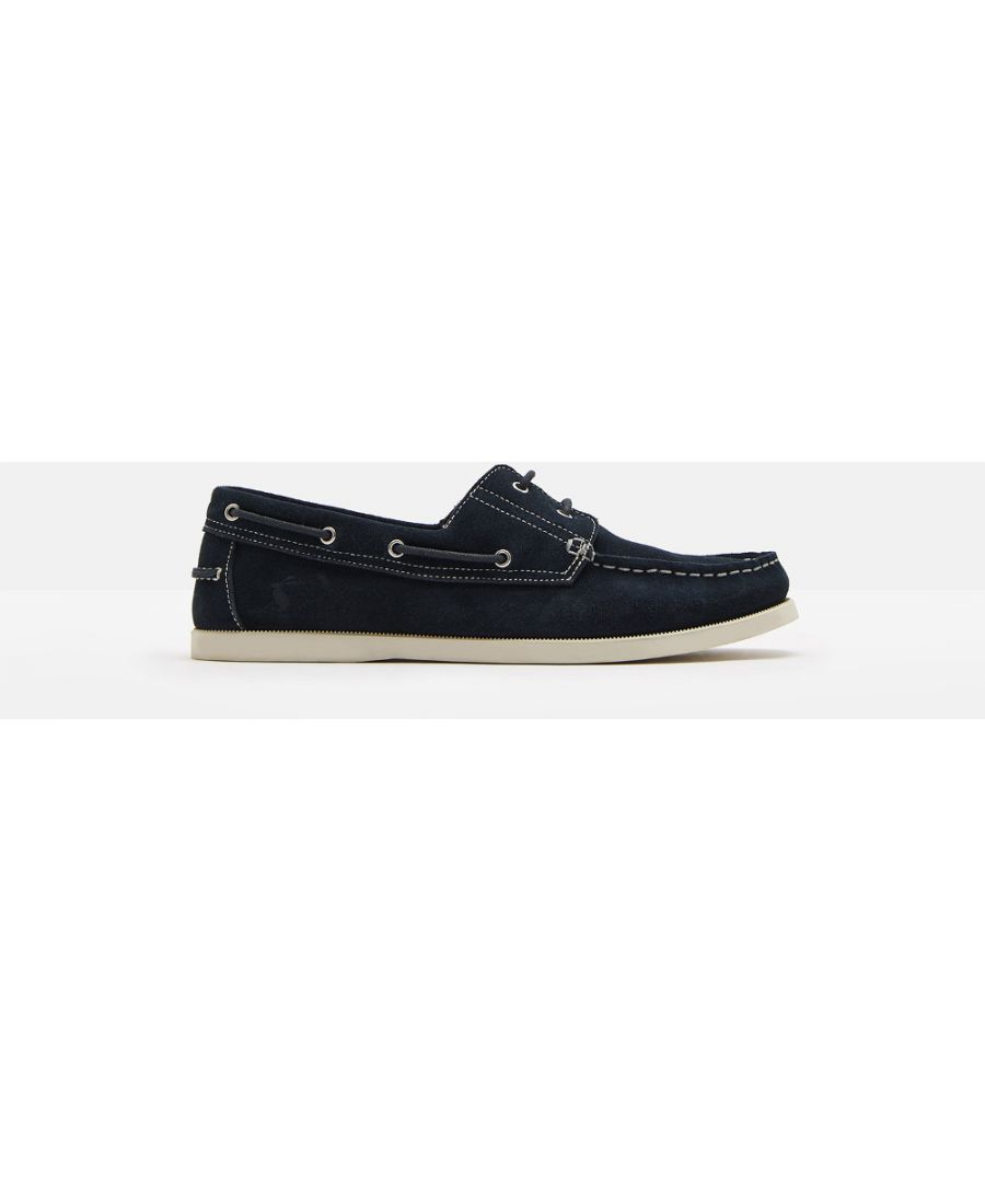 Image for Joules Mens Swinton Casual Leather Padded Lace Up Deck Shoes