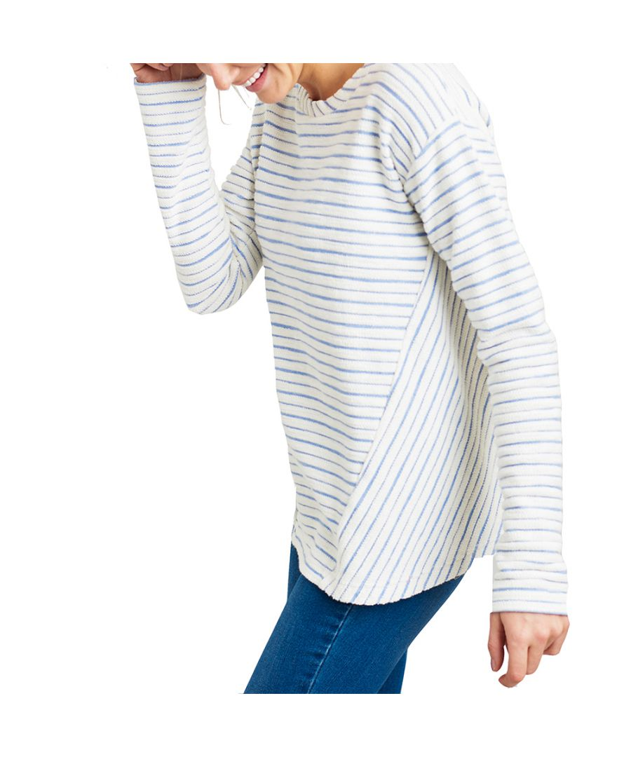 Image for Joules Womens Selena Contrast Zip Detail Casual Sweatshirt
