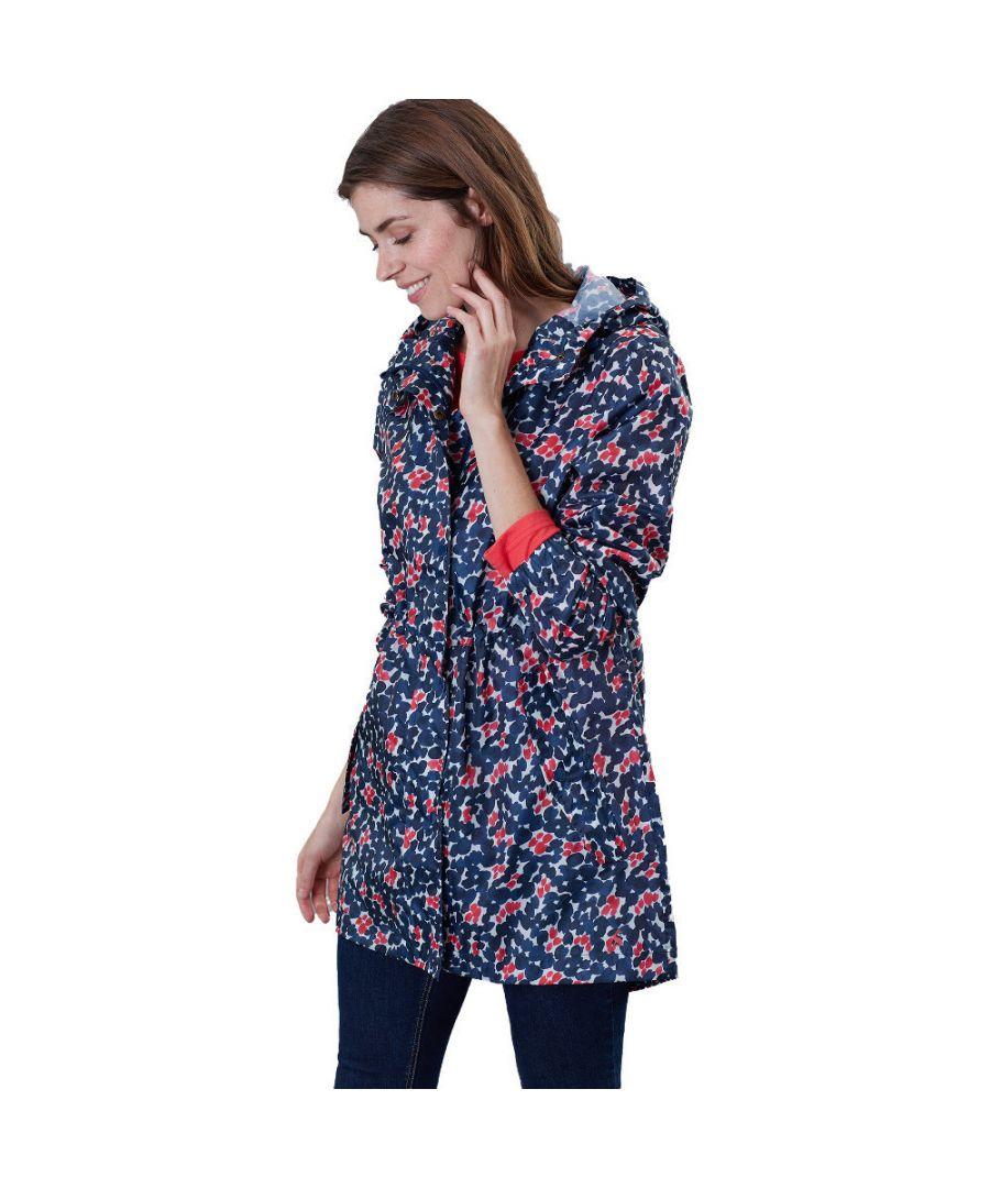 Image for Joules Womens Golightly Packaway Waterproof Parka Jacket
