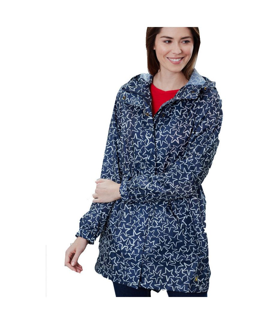 Image for Joules Womens Golightly Packaway Waterproof Parka Jacket