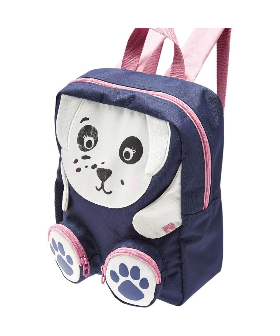 Image for Joules Girls Zippyback Animal Design Zip Up School Backpack