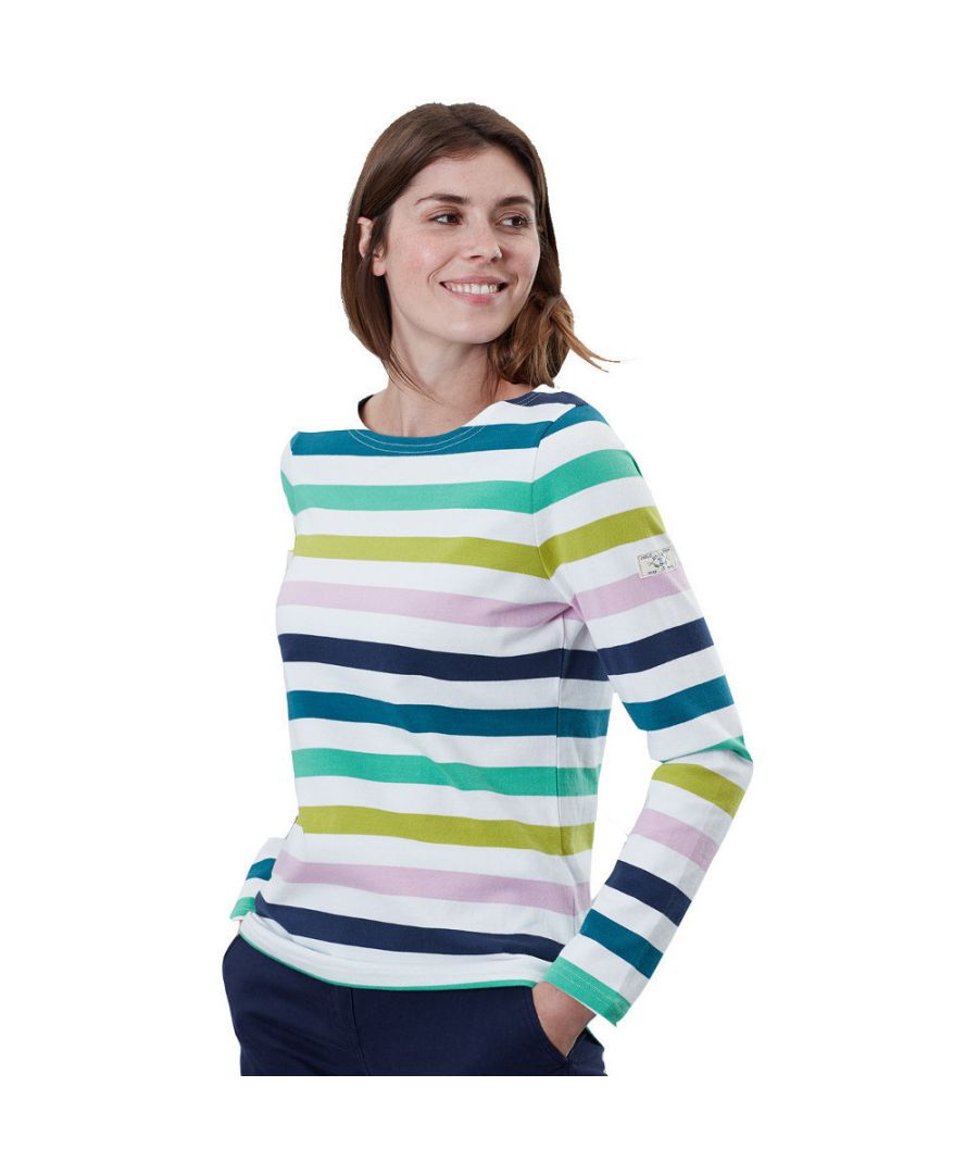 Image for Joules Womens Harbour Long Sleeve Relaxed Fit Fashion Top